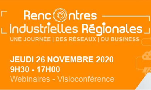 Rencontres Industrielles Régionales – 26 novembre 2020