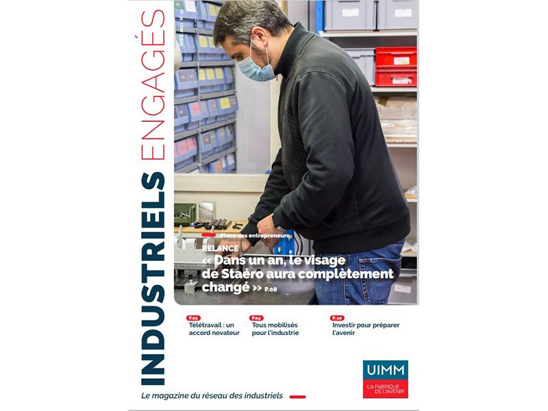 Le magazine Industriels Engagés #11 – Avril 2021 est en ligne