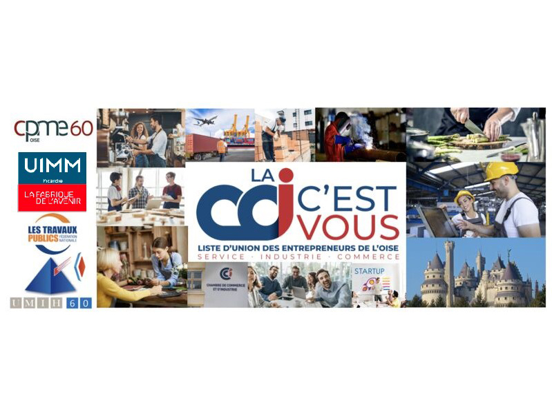 Elections CCI Oise : l'UIMM Picardie soutient la liste « LA CCI C'EST VOUS »